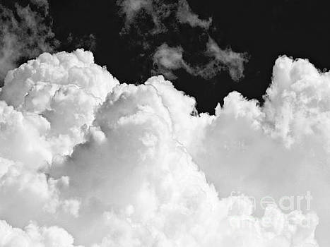 White Puffy Clouds by Carol F Austin