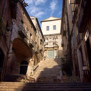 Hidden Places In Girona  #girona by Stefano Bagnasco