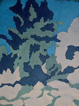 Hidden Valley Abstraction by Richard Willson