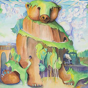 Hide and Seek Bear Mt by Steve Emery