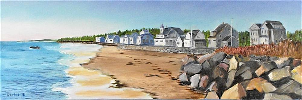 Higgins Beach, Maine by Jack Riddle