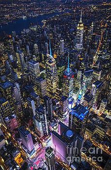 High Above the City by Roman Kurywczak