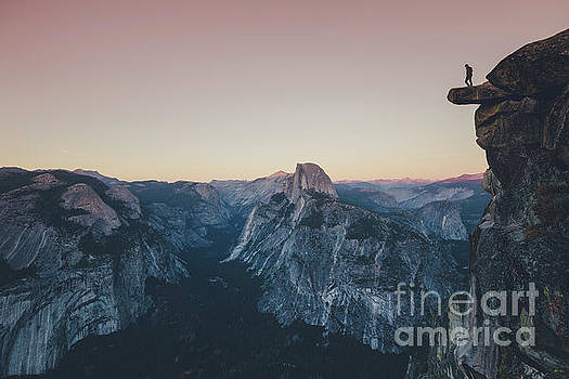 High Above Yosemite Valley by JR Photography