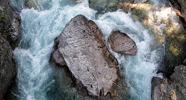 High Bridge Creek Rocks  by Larry Darnell