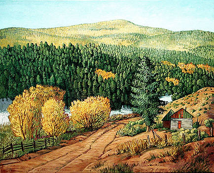 High Country Autumn by Donna Clair