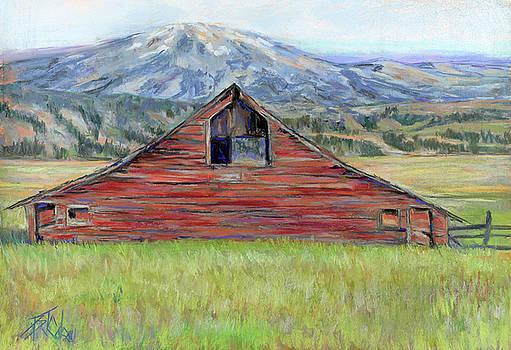 High Country Barn by Bil