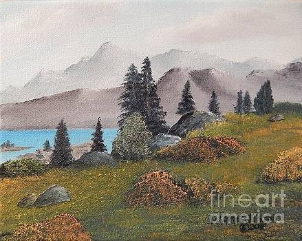 High Country - miniature by William McCutcheon