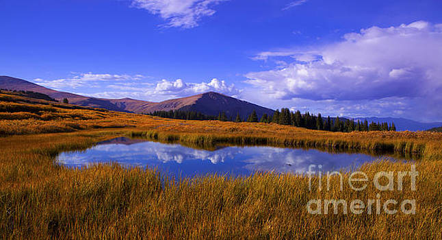 High Country Pond by Barbara Schultheis