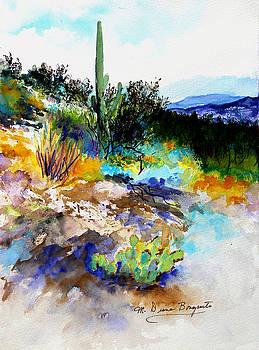 High Desert Scene by M Diane Bonaparte