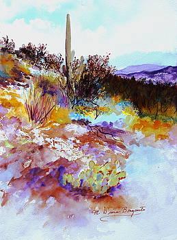 High Desert Scene Warm by M Diane Bonaparte