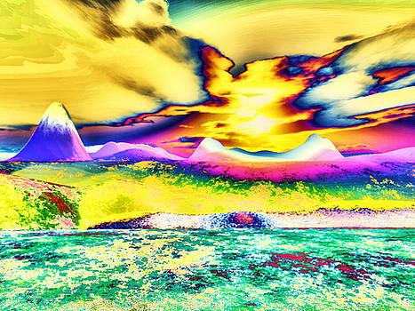 High Desert Sunset by Eric Wahl