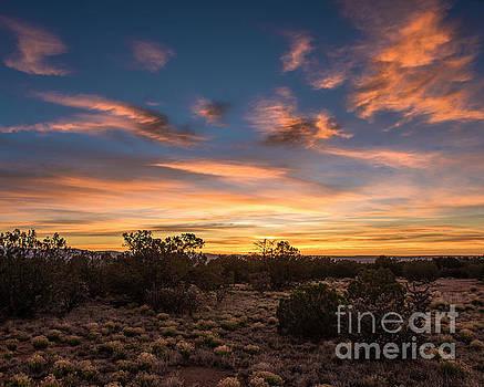 High Desert Sunset by Steven Natanson