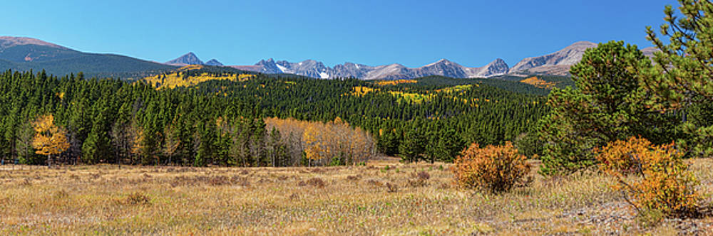 James BO Insogna - High Elevation Rocky Mountain Front Range Autumn Panorama