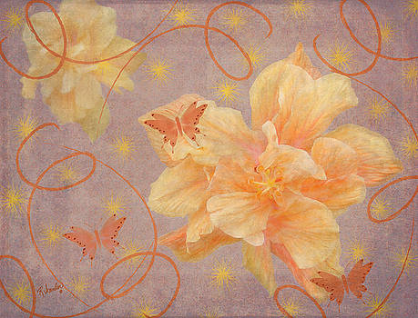 High Flying Hibiscus by Rosalie Scanlon