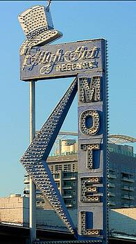 High Hat Motel Las Vegas by Bill Buth