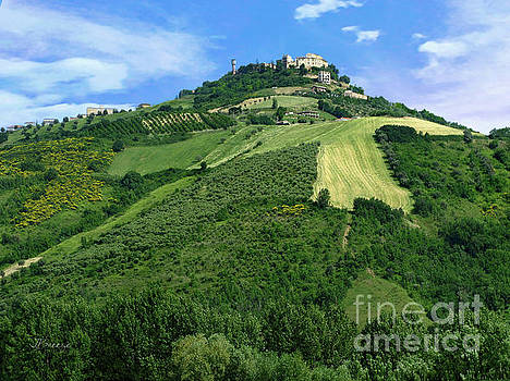 High in the Sky to Ascoli Piceno by Jennie Breeze