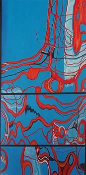 High Line Reflection 7 by Steven Fleit