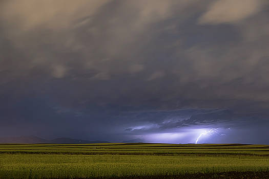 High Plains Lightning Strike by James BO Insogna