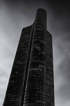 High Rise against thee Clouds by Andrew Soundarajan