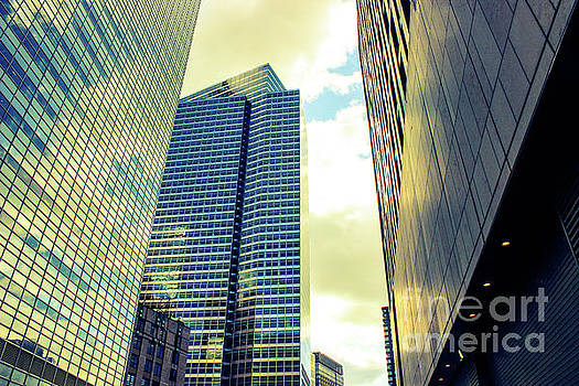 High Rise Reflections NYC by Robin Coaker