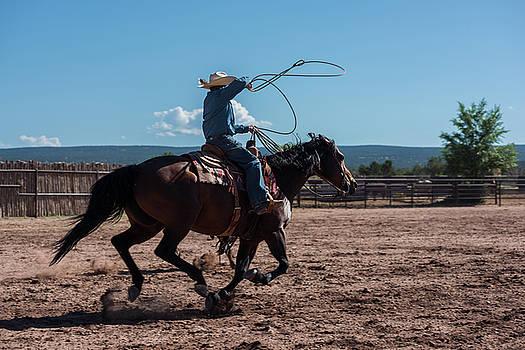 High Speed Cowboy Roping by Steve Gadomski