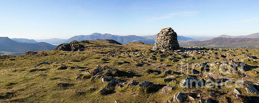 High Spy summit panorama by Gavin Dronfield