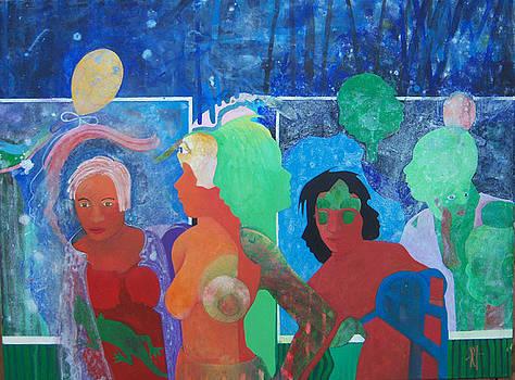High Street Friday night by Richard Heley