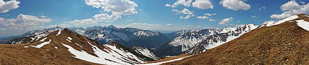 High Tatra mountains panorama view by Lukasz Szczepanski