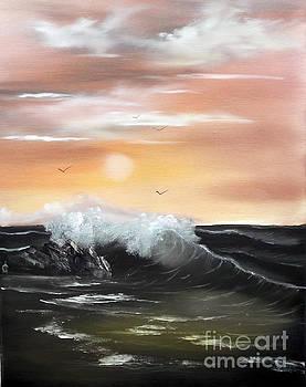 High Tide by Cynthia Adams