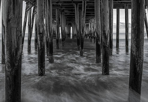 High Tide Under the Pier by Jesse MacDonald