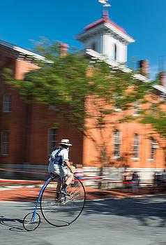 Dana Sohr - High-Wheel Bike Race - Frederick M
