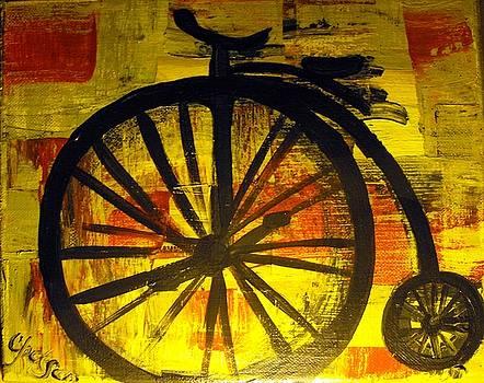 High wheel by Cat Jackson