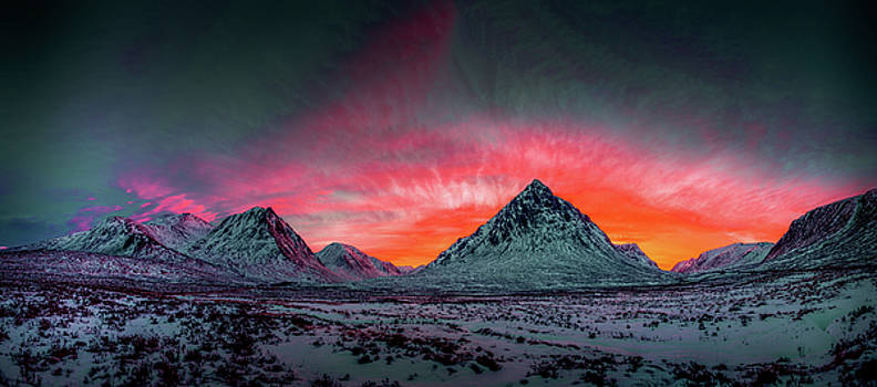 Highland Afterglow by Peter OReilly
