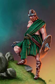 Highland Barbarian by Matt James