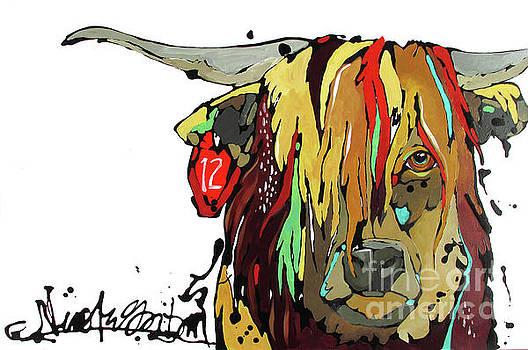 Highland Cow by Nicole Gaitan
