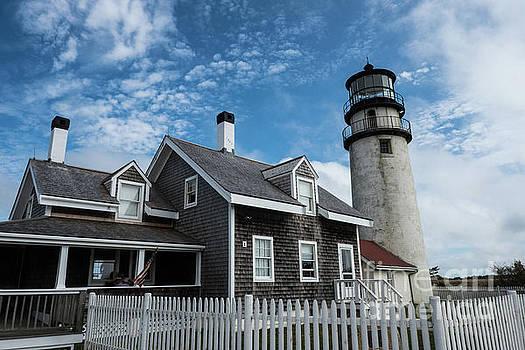 Highland lighthouse Truro Massachusetts by Wayne Moran