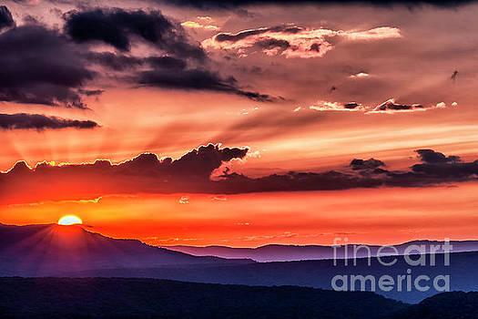 Highland Sunrise by Thomas R Fletcher