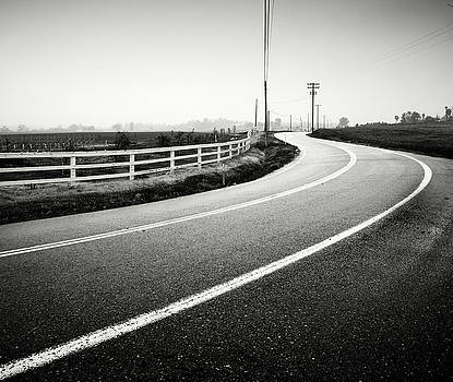 Highland Valley Road Rain by William Dunigan