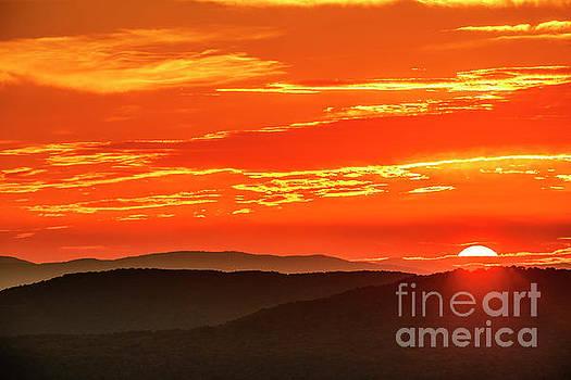Highlands Autumn Equinox Sunrise by Thomas R Fletcher
