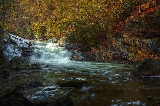Highlands NC Cascades by Karen Lawson