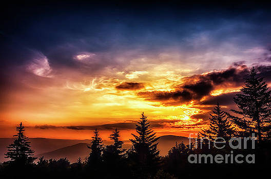 Highlands Summer Sunrise  by Thomas R Fletcher