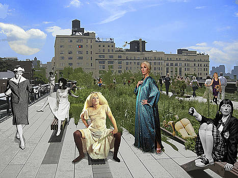 Highline afternoon with Eleven Cindys by Peter Pfeffer