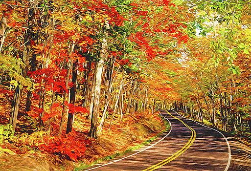 Dennis Cox - Highway 41 Autumn