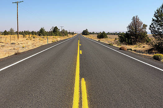 Highway in Central Oregon by David Gn