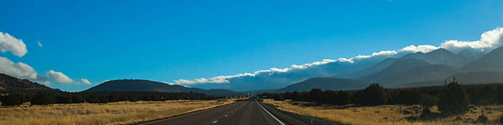 Highway to Flagstaff by Ed Gleichman