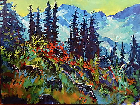 Hike Day Whistler Bowl by Brian Buckrell