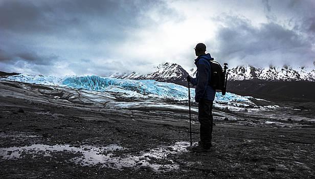 Hike to Matanuska Glacier by Kyle Lavey