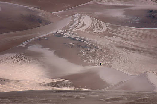 Nikolyn McDonald - Hiker - Great Sand Dunes - Colorado