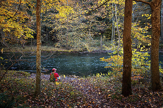 Hikers Rest by Victoria Winningham