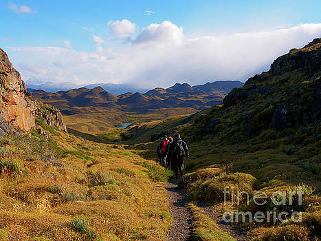 Hiking in Torres del Paine National Park Patagonia Chile by Louise Heusinkveld